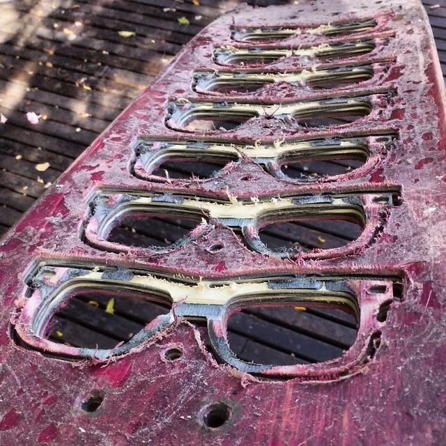 Nueva tanda de tablas recicladas, en esta ocacion tenemos una Baker!  Cada dia perfeccionamos mas la morfologia del anteojo, se viene una tanda increible!  #ufit  #ufitargentina  #anteojos #sunglasses  #reciclados #recycled  #recycledsunglasses ...