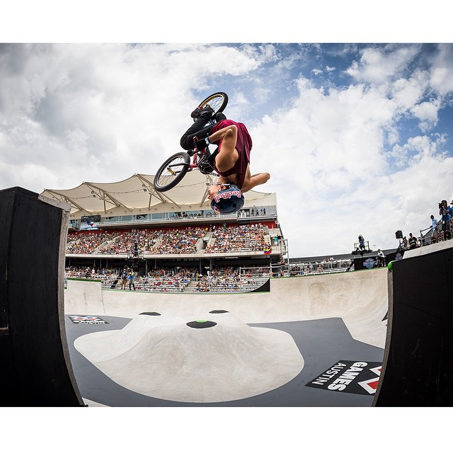 Five-time #XGames BMX Park gold medalist @danieldhers turned 30 years old today. (