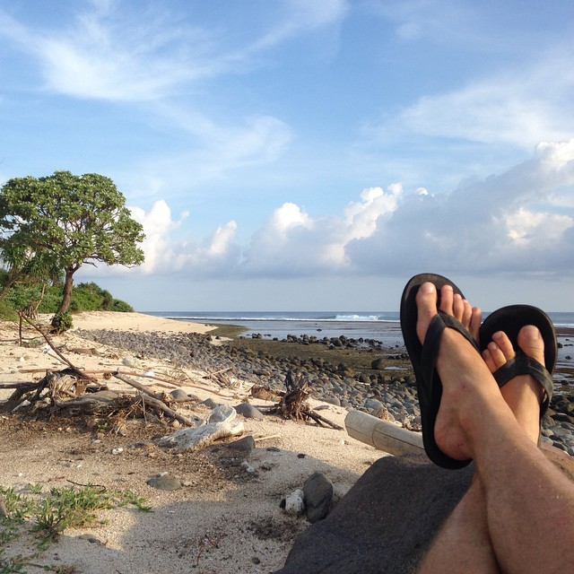 A liitle lost but mostly found in indo @hampositive  #Double6sandals #thisisindo #indolife #TiresToSoles #soleswithsoul