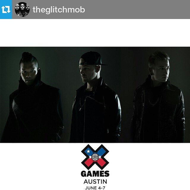 #Repost @theglitchmob ・・・ We're going to perform at #XGames Austin this June! Tickets are on sale now → XGames.com/Tickets