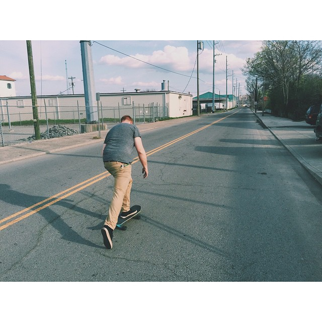 Enjoying the fruit of our labor. #Nashville #skate #cruiserboard
