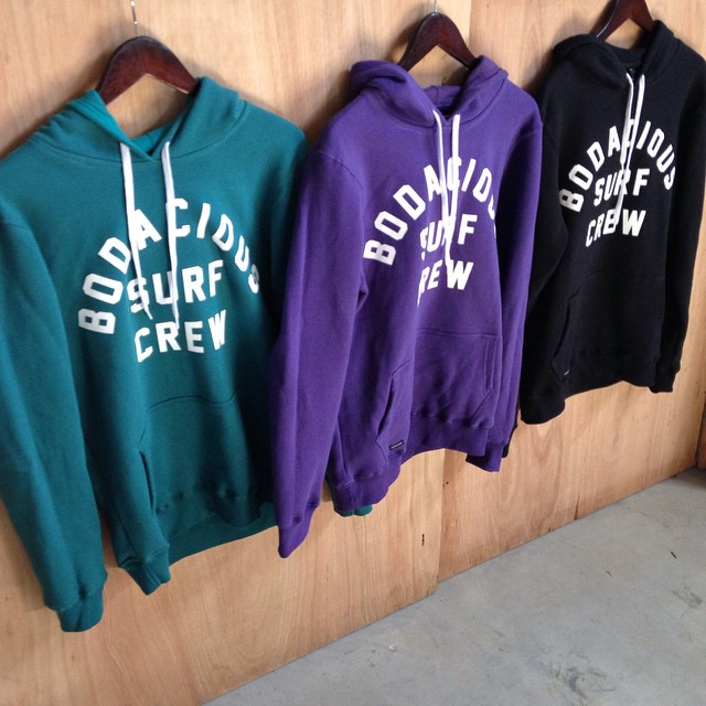 More hoodies