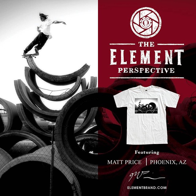 We are proud to introduce the latest installment of our #ElementPerspective tees, featuring this iconic image of @_levibrown shot by talented photographer and longtime friend of the brand Matt Price (@priceyhot) >>> Now available at ElementBrand.com