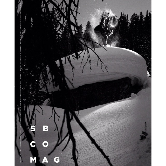 iNi Rider @colin_spencer just landed the #cover of  @sbcomag . Huge props to him for busting his ass each and every season. #SnowboardingIsFun . @yes_snowboards @dakinenews @sabre_fm #backflips