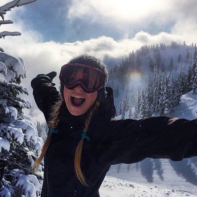 We want to give a big shout out to this lady! @hananahannah you are the queen of the #pnw and all related awesome hashtags, and we want to say thank you for sharing our @Kickstarter. #sisterhoodofshred #skiing #crystalmountain