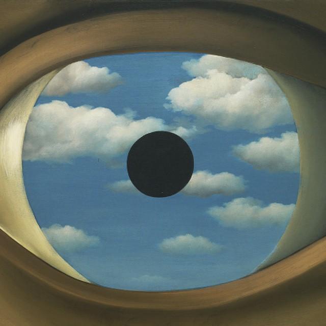 art + function, René Magritte #lovematuse #ckth The False Mirror