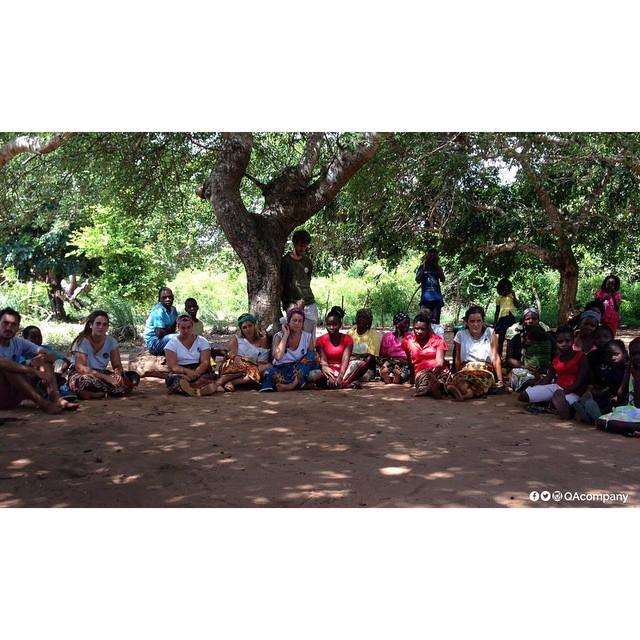 20 voluntarios argentinos + Voluntad @amozambique + Actitud QA = 17 aulas, en 10 distintas escuelas para chicos de África. #QAaMozambique #AulaQA www.QA.com.ar