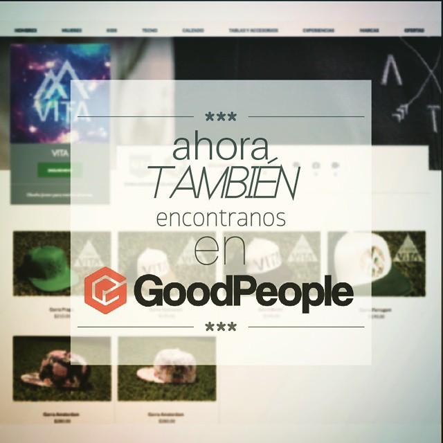 ¤¤Llegamos a GoodPeople.com!!¤¤ <> ▶▶No te olvides de participar por el sorteo por las dos gorras!◀◀ #VitaCaps #GoodPeople #GoodVibes #Autumn #LifeStyle #Otoño #Design