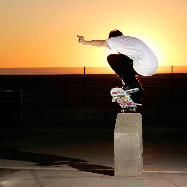 #TBT @joeybrezinski nose bonking into the sunset