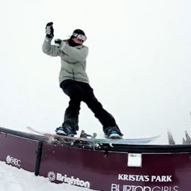 "KRISTA'S PARK // Video Recap Thank you to @BrightonResort for this beautiful MUST SEE video edit of the grand opening of Krista's Park with #B4BC and @BurtonGirls: ""There is always a story about Krista Moroge. Anyone that knew her, rode with her, or..."