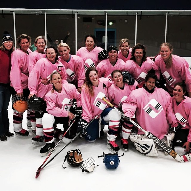 B4BC volunteer Tasha Wyatt wanted to find a way to help support the cause, so she thought it would be fun to hold an all-female hockey game with her team, the #Vail Breakaways. Turns out it also happened to be an epic success, with pink jerseys and...