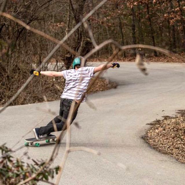 @andrewpletan riding through Arkansas on the Penrose. (Photo by Kyle Ramsey) #arkansas #longboard #longboarding #longboarder #dblongboards #goskate #shred #rad #stoked #skateboard #skateboarding #skateboarder #longboardlife #_longboardstyle...