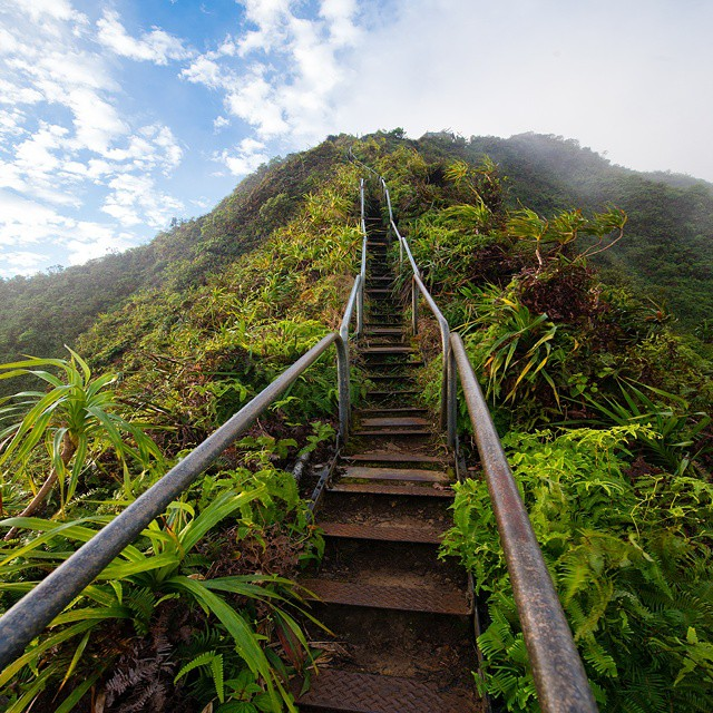 Stairway to heaven. #GetOutStayOut  Photo: @travisburkephotography