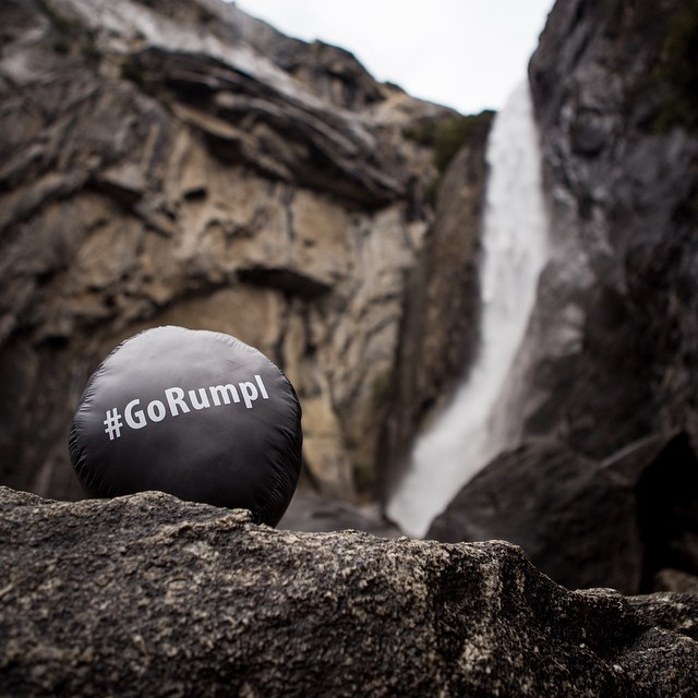 Don't go chasin' waterfalls, or other badass adventures for that matter, without tagging your pics with #gorumpl