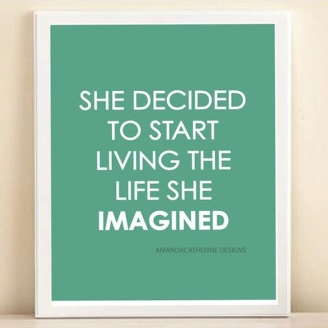Daily #inspiration to motivate your weekend! #girlpower #luvsurf #empower #imagination