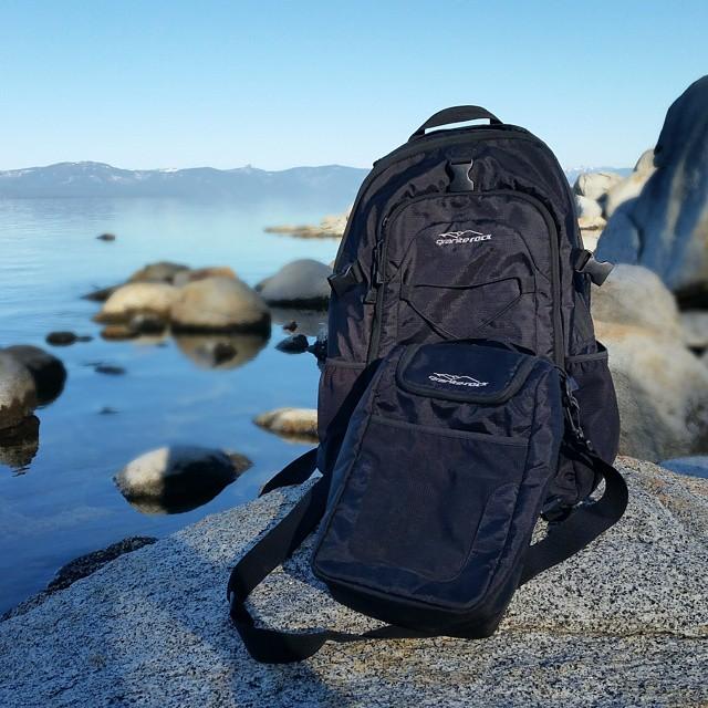 Dream Mornings... #tahoe #tahoelifestyle #secretspots #getoutdoors #calmmornings #adventure #backpacks #coolers #graniterocx