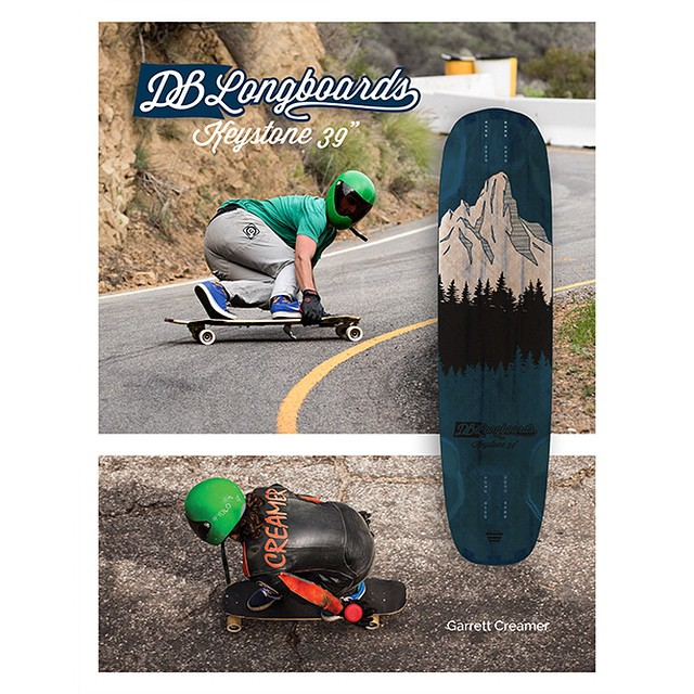 First look at the new Keystone longboard in the Concrete Wave Buyer's Guide and two rad shots of team rider @garrett_creamer