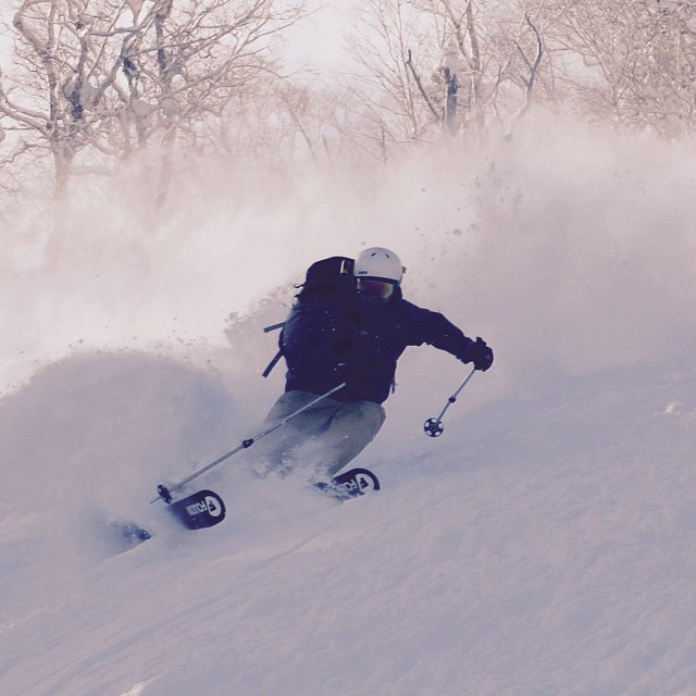 @mikezmurko got his Folsoms out to Furano #japan this year and looking at the photo, its safe to say it didnt suck... Send in your best shots and vids to rob@folsomskis.com and we'll keep puttin 'em up!! Thanks for the great shot Mike!