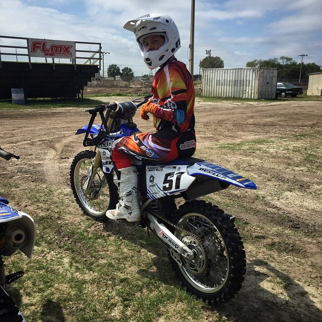 Stoked to be training this kid @ehastings_51 He's gonna kill Daytona.. Watch out!  #wolftrainingacademy #wolfpack #moto #daytona #daytonaprep #motocross #training #florida