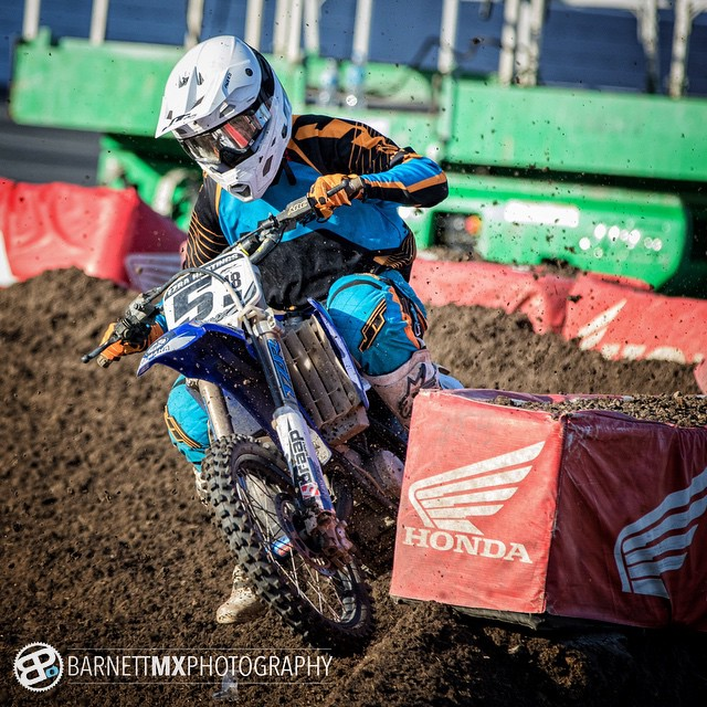 @ehastings_51 ripping at Daytona! Qualified in all his classes. Going to kill it in the mains.