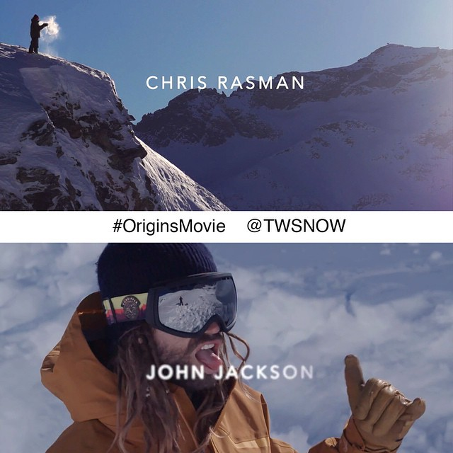 Have you seen the #OriginsMovie teaser on @TWSnow yet? It's arguably one of the best teasers we've ever seen and we're pumped to have two of our team riders @johnjamun and @chrisrasman in it! (URL link to the teaser in our profile) #FluxBindings...