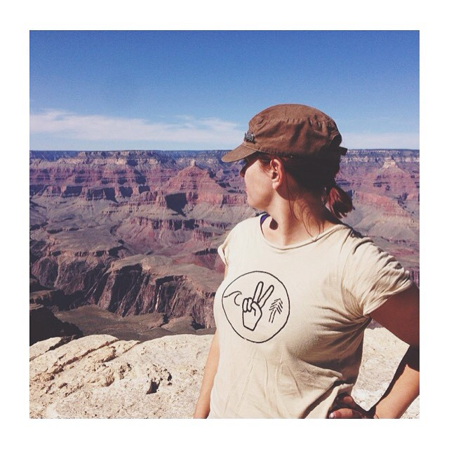 Tribe JourneyWoman @sheisadorbs admiring the grand view in our women's Unity tee. Made in California from a blend of hemp and organic cotton. ------------------------------------------------- Vibrations of unity to the Sea, the Land, and the People. We...