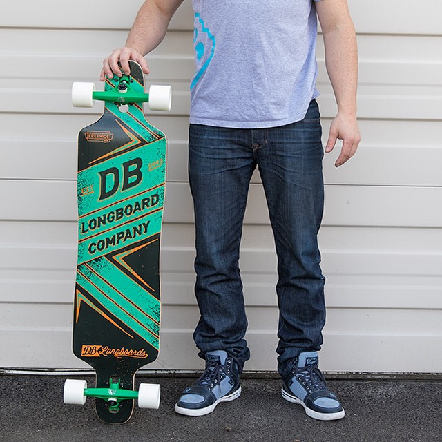 Getting ready to send out a new order of longboards to @surf_skate_bikinis like this Freeride DT! Check the rad California shop out at: SurfandSkate.com #freeride #surfandskate  #longboard #longboarding #longboarder #dblongboards