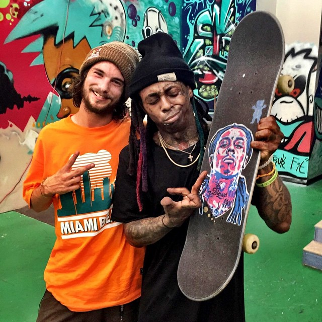 #GivesYouWeezy @toreypudwill + @liltunechi  Follow redbull on #snapchat for more.