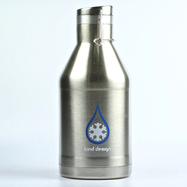 Kind Design Beer Growlers by @miir ... Looking so good!  They improved the lids on this version and have much nicer functionality.  Each growler purchased helps give water to a person in need for one year. BPA Free. 100% leak proof. Available this...