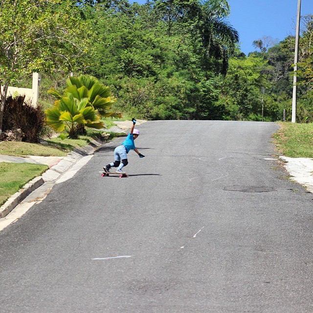 Go to longboardgirlscrew.com and check Puerto Rican ambassador @keydennise's latest edit. Stunning island vibes!  @joshuanel photo & video  #longboardgirlscrew #girlswhoshred #womensupportingwomen #keyladennise #puertorico