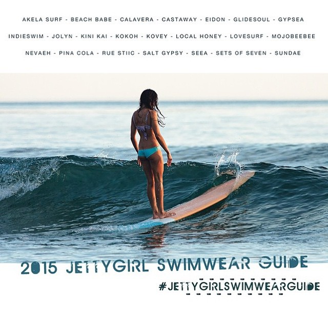 Check out Local Honey in the @jettygirlsurfmag Swimwear Guide 2015!