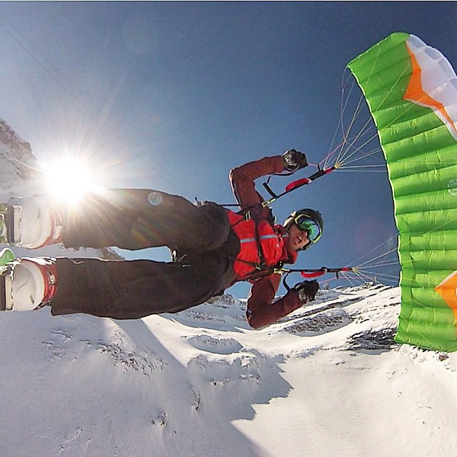 Flying high in France with @ryangsdj - #MyPakage keep his package safe in the harness. #permissiontoplay #gopro
