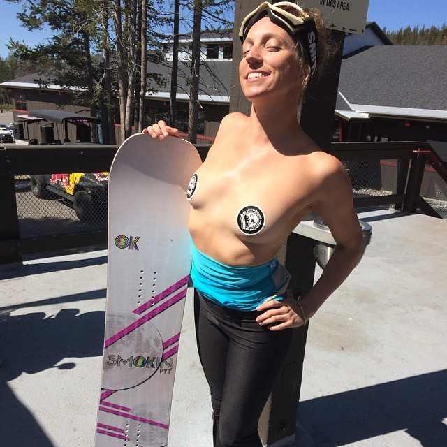 Fun day in the sun #LegendsOfSnowboarding2015 #forridersbyriders
