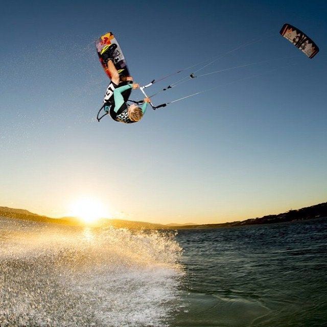 Grabbin' one last sunset session. #givesyouwings
