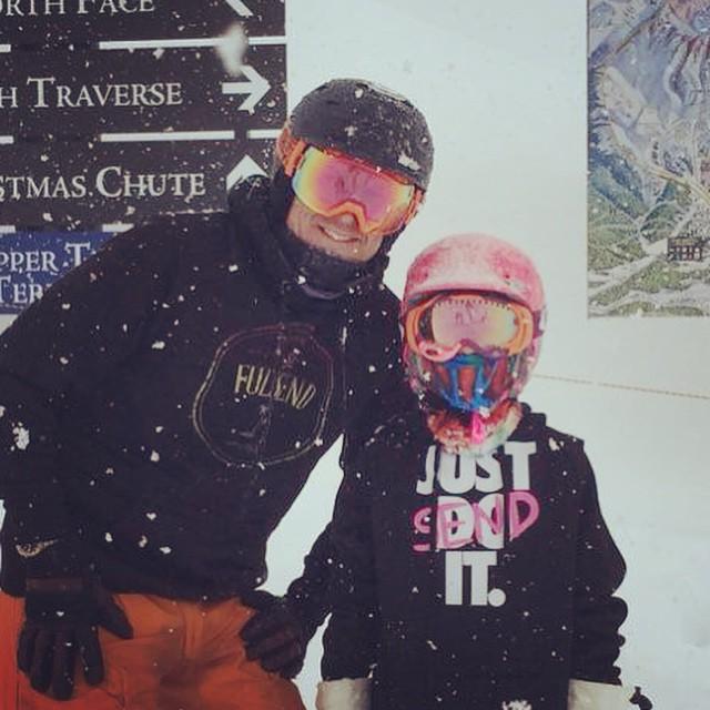#kidsthatrip #alaska #JustSendIt @resortalyeska #futureteamrider #skiing #snowboarding #sendit