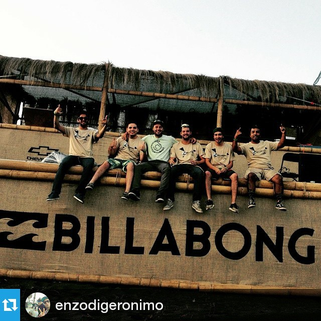 #Repost @enzodigeronimo ・・・ Produciendo con el mejor Staff !! #billabongdiamondseries #surf #puertecillo #billabong #knewton