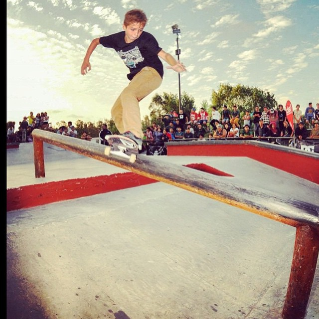 El talento de nuestro GROM Bauti Gaggero en #SkateParkBeriso #CNSB2015 @blackflavio1