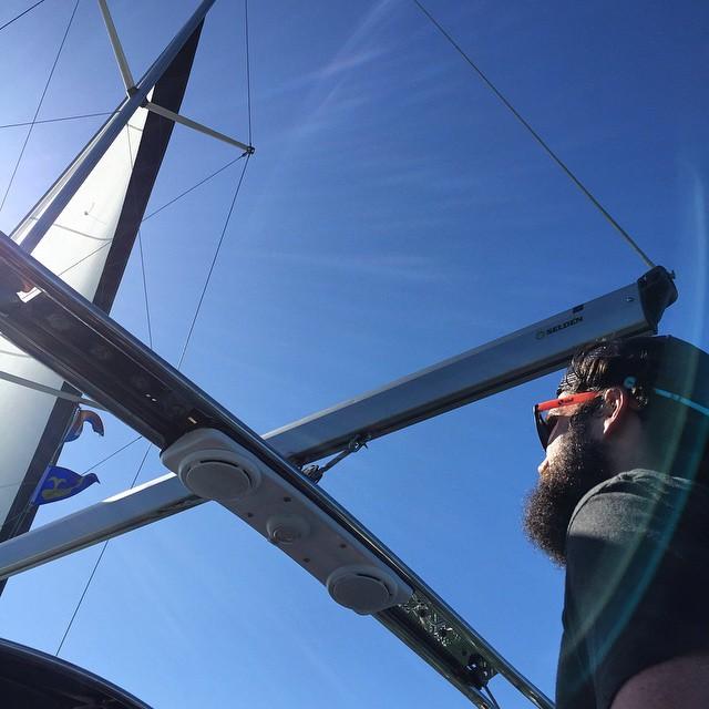 Beards + Sailboats #weekendvibes #lategram #sanfrancisco #sailing #beard