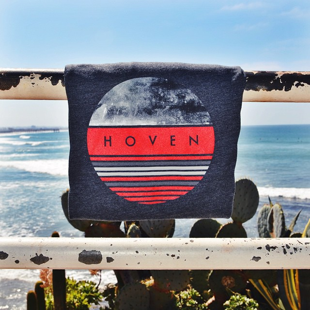 The Hoven Lunar T-shirt is your M.O. for Monday. #hovenvision #beach #surf #sup #california #springbreak #lunar #apparel