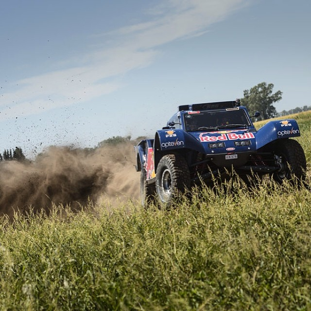 Turn up the heat, kick up the dust. #dakar2014 #desertwings
