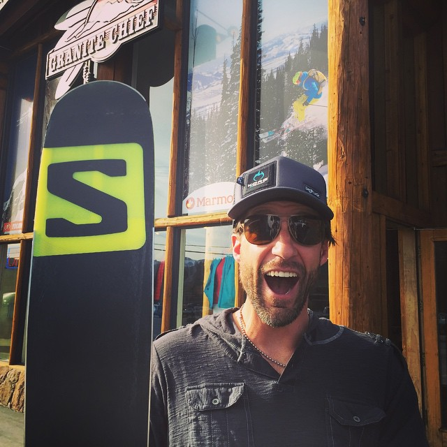 STOKED - my 1st new ski in over half a decade and I am ear to ear!!! Thanks to the @hi5sfoundation, @salomon, @markerbindings, & @handsonconcepts my snow sliding game is back on!! THANK YOU @RoyTuscany, #ChrisTiller, #JamieLavalle, and all H5s...