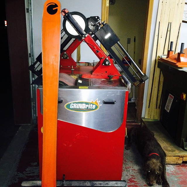 We rescued our machine today. Everything we do will be completely in house and we love it... Our new ownership has big plans for a bright future! #orangehot #getready #workinglikedogs