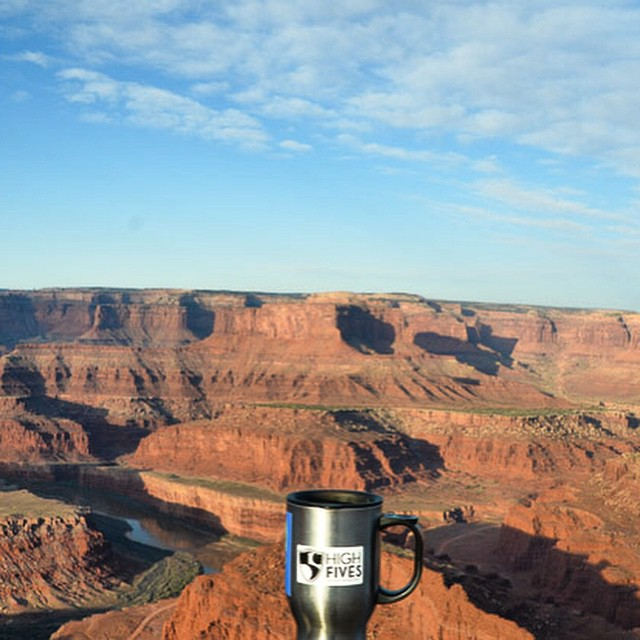 #ReppingThe5 at Dead Horse Point near Moab, Utah