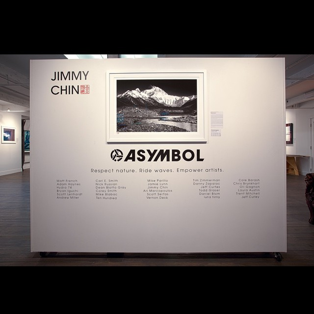 Freshly framed and mounted, @jimmy_chin's 'Chomolungma' throws a majestic view for all who pass by.  Jimmy captures the deepest depths of adventure and the highest highs of life like a true pioneer. ||| Original and prints, numbered and signed or open...