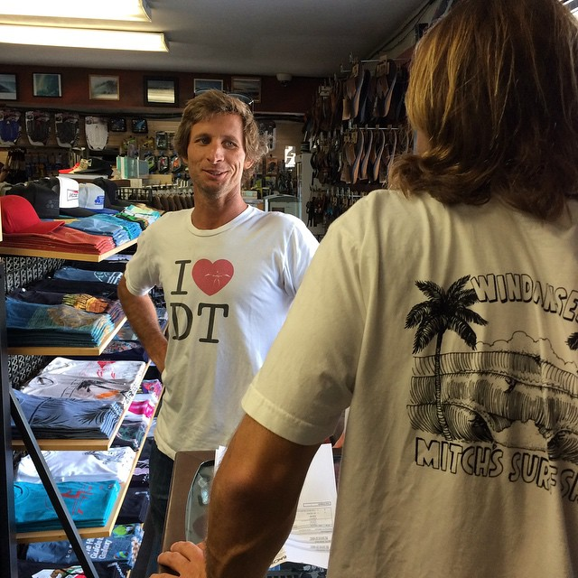 @joeljitsu and Bret Howard holding it down for the Ichiban and representing the UC at @mitchssurfshop PC @tusegoose #2103 #ckth #lovematuse