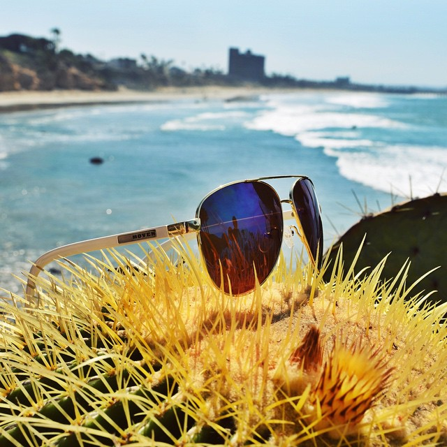 || Hoven Keeps it Real || The new Dewey available April 2015 #hovenvision #neversettle #keepitreal #beach #surf #coast #california #socal #pacificbeach #cactus #sunglasses