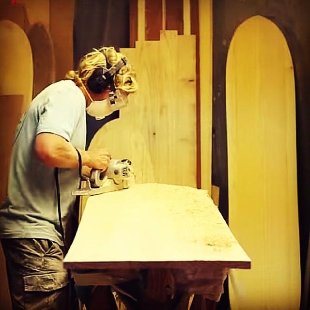 Shape an Alaia with Jon Wegener. #wavetribe #alaia #surfboards http://wp.me/p3HmjK-1nR