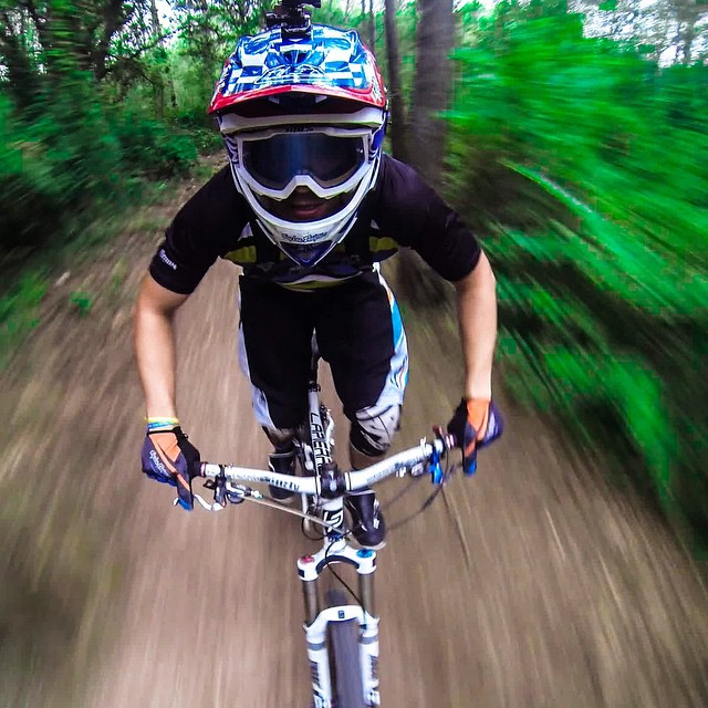 Photo of the Day! Get out and ride. Photo by @conipics. #GoPro #Bike #MTB