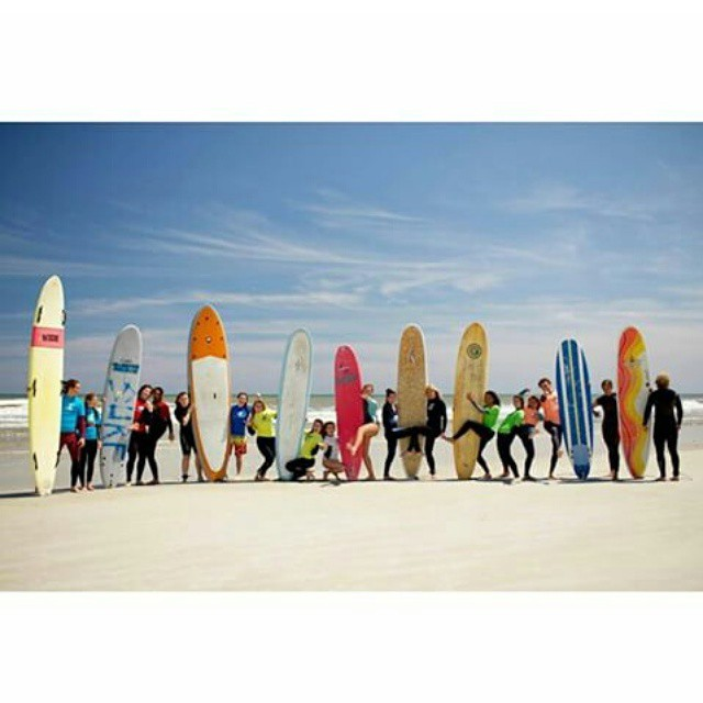 This weeks #WCW goes to the radical ladies of @wahinesofthewaves ! Last weekend they raised over $1300 for the Florida Breast Cancer Foundation #wowuf #endcancer #surf #surflikeagirl #charity #luvsurf