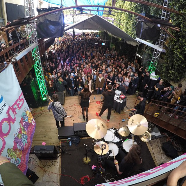 @BigDataBigData rocks the @FLOOD_Magazine party during #SXSW! #GoProMusic Photo by @mishavladimirskiy